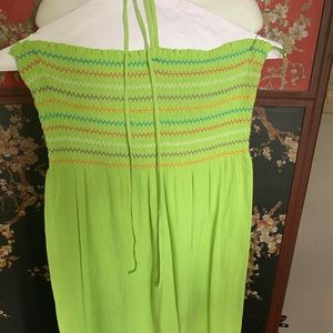 Dresses & Skirts - Green sun dress